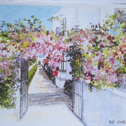A Floral Archway