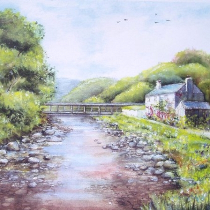 Cottage near Capel Curig