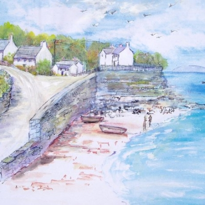 Moelfre Seafront